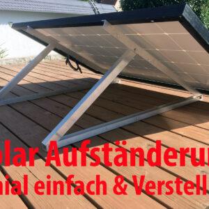 Solarhalterung / Aufständerung